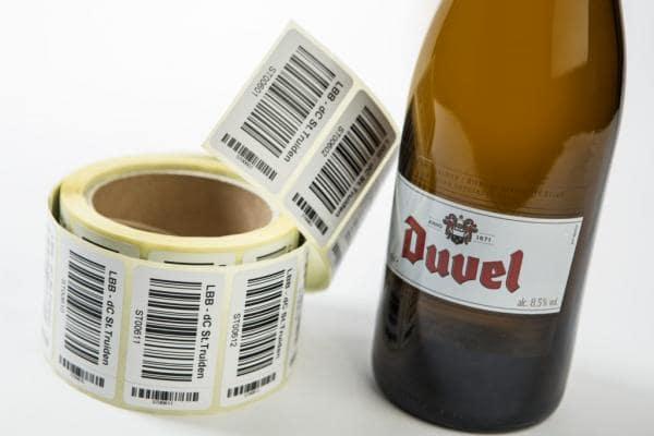 Étiquettes rouleaux
