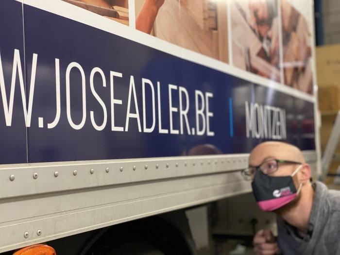 Projet camionnette José Adler (Montzen)