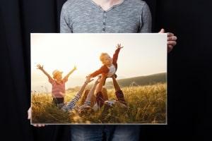 Impression de photos sur toile