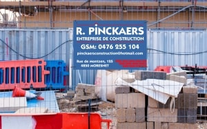 Fabrication de panneaux de chantier